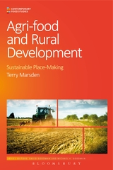 "Cover of ""Agri-food and Rural Development: Sustainable Place-making"" by Terry Marsden"