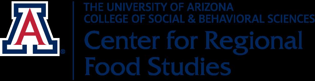 Logo of the University of Arizona Center for Regional Food Studies