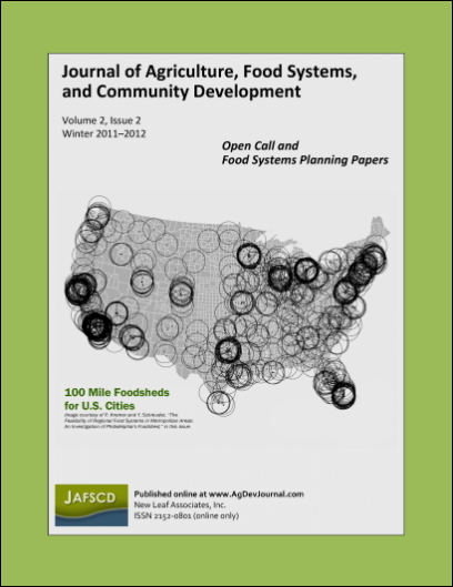 Cover of volume 2, issue 2 (winter 2011-2012)