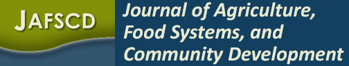 Journal of Agriculture, Food Systems, and Community Development logo
