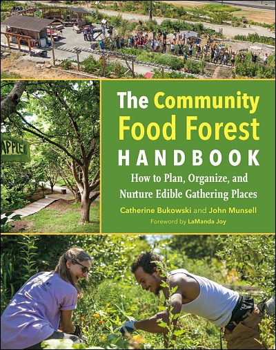 "Cover of ""The Community Food Forest Handbook"""