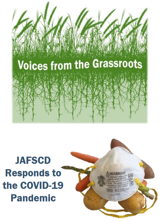 Voices from the Grassroots and COVID-19 logo