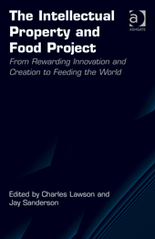 """Cover of """"The Intellectual Property and Food Project"""""""