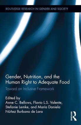 "Cover of ""Gender, Nutrition, and the Human Right to Adequate Food"""